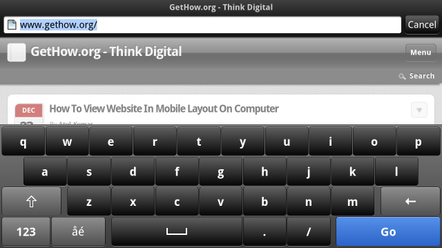 How to View Website in Mobile Layout on Computer