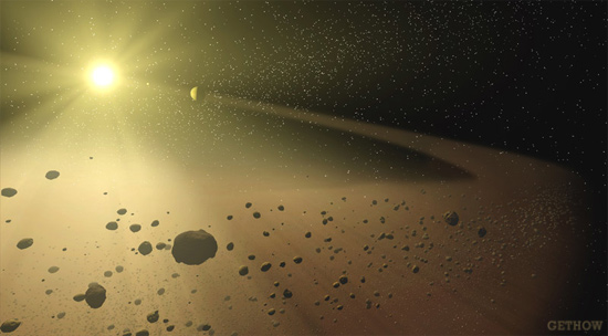 Know-How of the Universe : Asteroids Comets Meteoroids