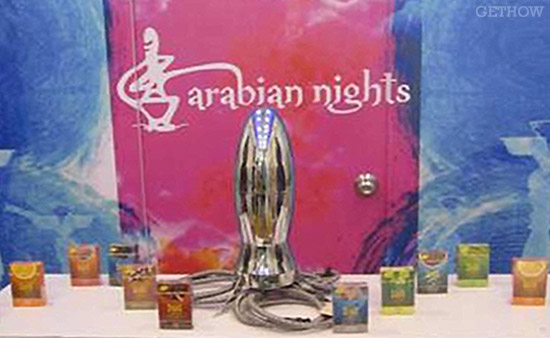 Arabian Nights Hookah (Rocket Launcher)