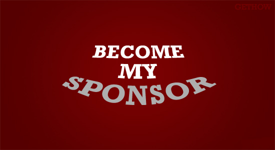 Become My Sponsor