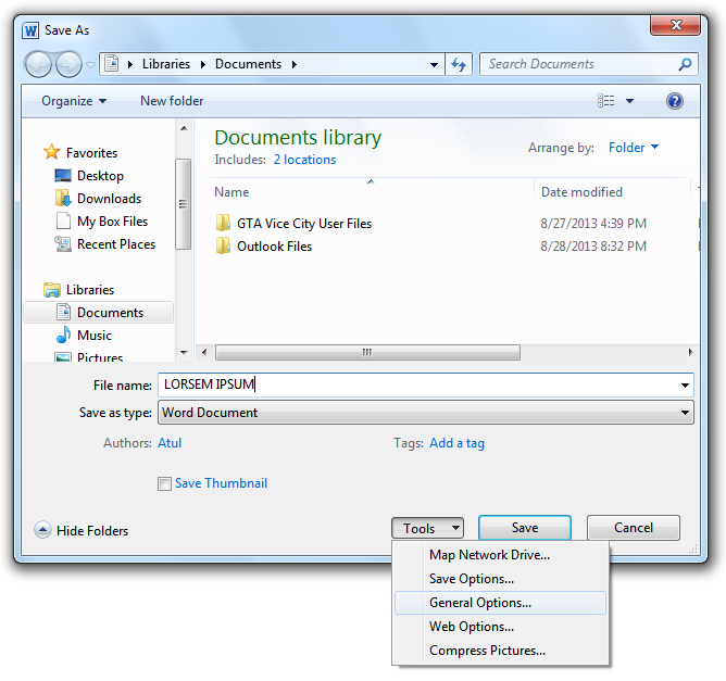 Word Document Tools