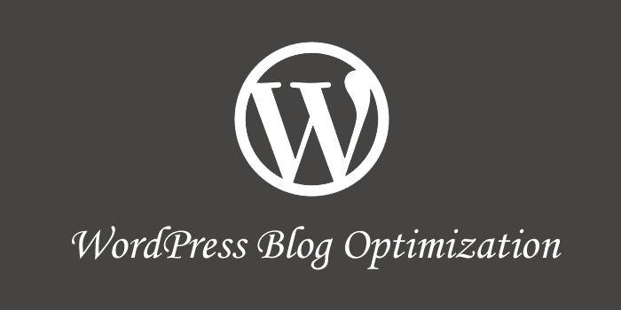 WordPress Blog Optimization