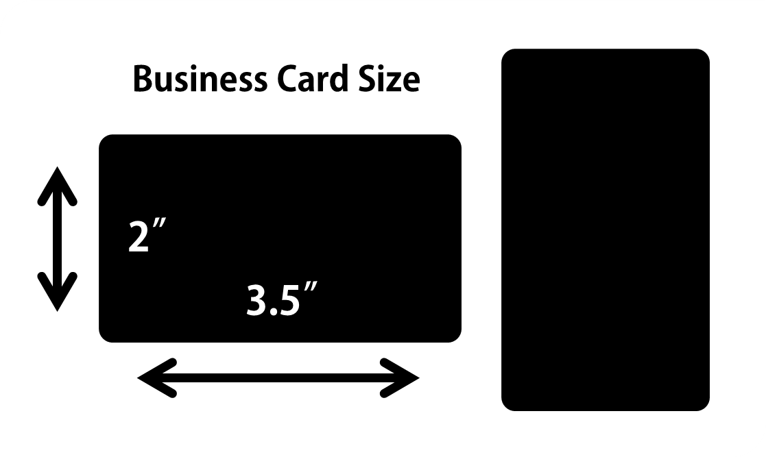 Standard business card size o gethow for Standard business cards size