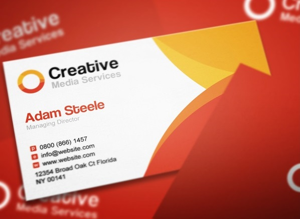 Creative Media Business Card