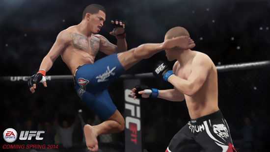 EA Sports UFC – Launching on the Xbox One and PlayStation 4