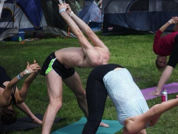 Unfortunate Picture Yoga