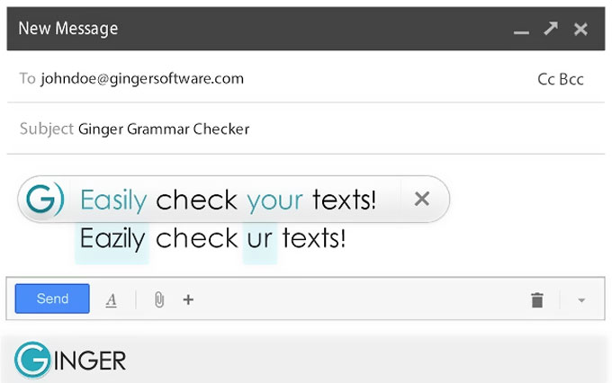Spell Checker and Grammar Checker by Ginger