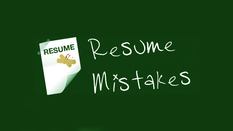 Top 5 Resume Bloopers and How to Get Rid of Them