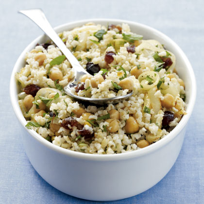 Middle Eastern Brown Rice Salad