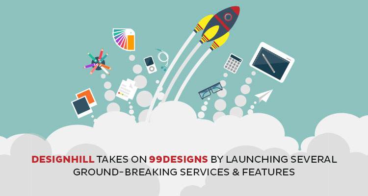 Designhill Takes on 99Designs by Launching Several Ground-Breaking Services and Features