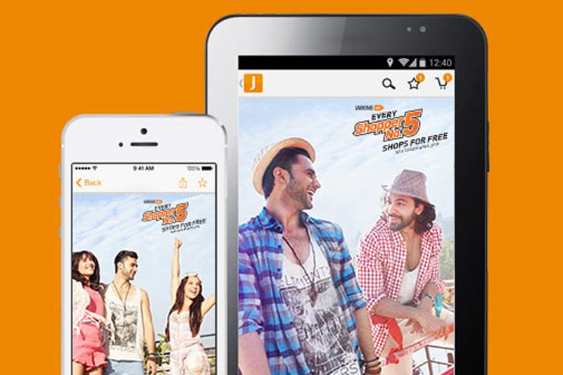 Update Yourself with Jabong Fashion Online Shopping App
