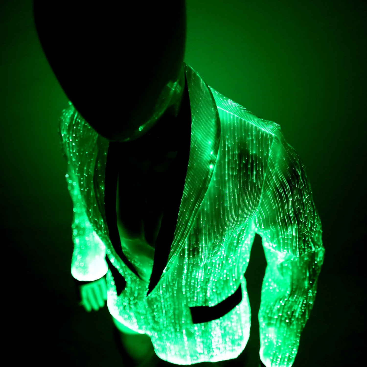 LED Fiber Optic Jacket