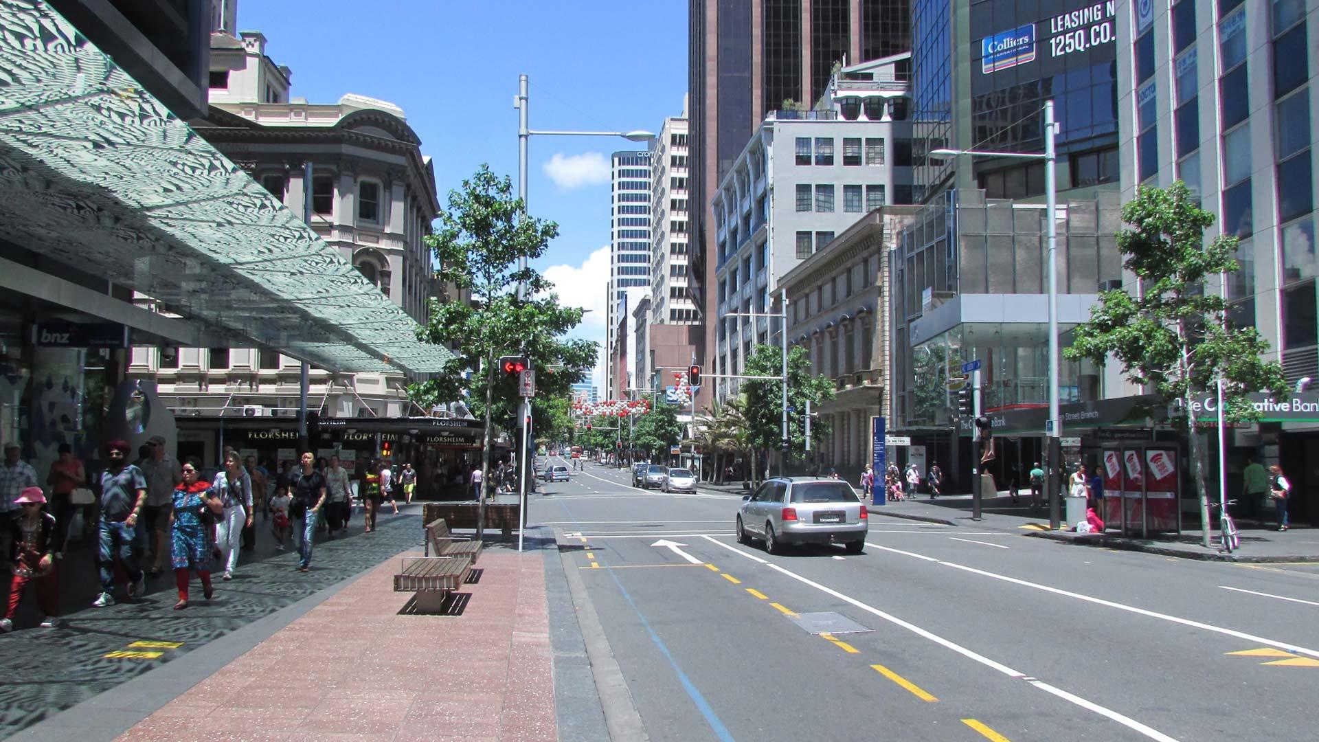 Queen Street Cafes Auckland